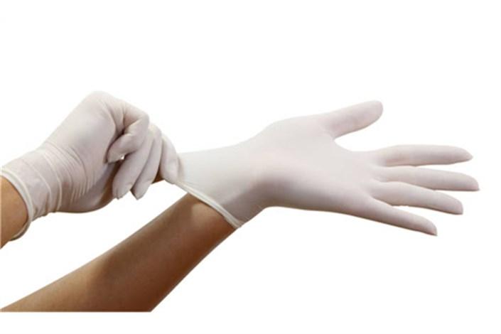 کشف 20 هزار کیلو دستکش طبی  احتکاری