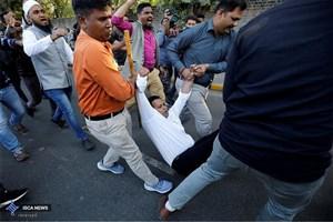 تجمع دانشجویان در حمایت از مسلمانان هند برگزار میشود