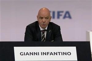پیام اینفانتینو به فوتبال جهان:سلامتی اولویت فیفا است