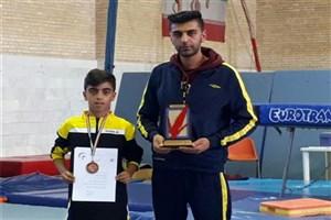 کسب مقام سوم تیمی مسابقات ترامپولین کشور توسط دانش آموز سما نجف آباد