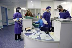 کادر درمانی دانشکده علوم پزشکی دانشگاه آزاد در کنار پزشکان قم
