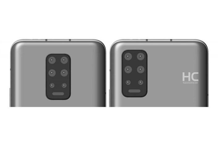 ثبت طراحی جدید برای گوشیهای هوآوی
