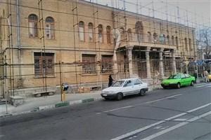 پایان  مرمت بنای تاریخی مهمانسرای دانشگاه امام علی (ع) درحصار ناصری