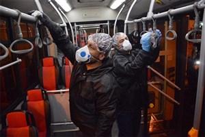 استفاده از جوهر نمک برای ضد عفونی کردن اتوبوسهای پایتخت تکذیب شد
