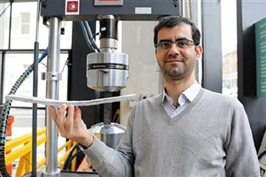 Iranian Researcher Creates Cement-Free Bendable Concrete