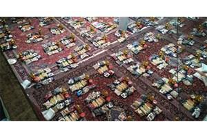 توزیع 110 بسته سبد کالا توسط بسیجیان در منطقه 11 تهران+عکس