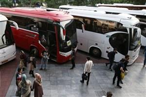 ناوگان مسافری جادهای اجازه ورود به برخی استانها را ندارد