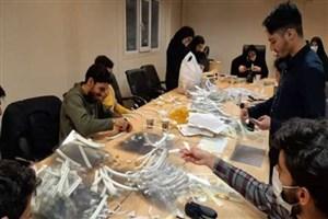 تولید شیلد محافظ به همت دانشجویان دانشگاه علوم پزشکی تهران