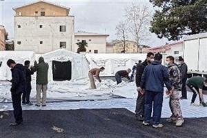 احداث بیمارستان سیار سپاه قدس گیلان/ کادر درمانی موردنیاز تأمین شد+عکس