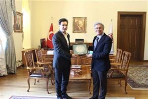 جذب دانشجوی غیر ایرانی و تبادل علمی واحد اردبیل با دانشگاههای ترکیه