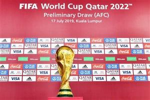فیفا اعلام کرد: دیدارهای انتخابی جام جهانی ۲۰۲۲ در آسیا به تعویق افتاد