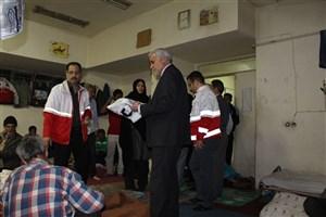 توزیع بیش از ۴ هزار بسته بهداشتی در سامانسراهای تهران