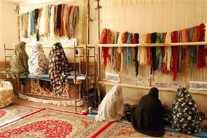 راه اندازی و تجهیز ۴ مجتمع قالیبافی در شهرستان زهک