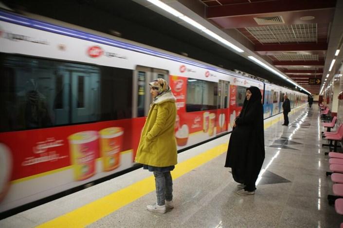 کاهش مسافران مترو
