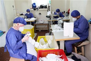 راه اندازی ۱۸۰ کارگاه تولید لوازم پزشکی در مازندران/ تولید و توزیع ۴۰۰ هزار ماسک بهداشتی توسط جهادگران