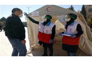 غربالگری 1/5 میلیون نفر توسط هلال احمر/توزیع 26 هزار بسته بهداشتی در جنوب تهران