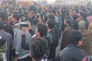 تظاهرات کنندگان در بغداد و نجف با الزرفی به مخالفت برخاستند
