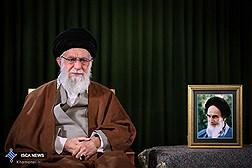 رهبرمعظم  انقلاب روز نیمه شعبان با مردم سخن میگویند