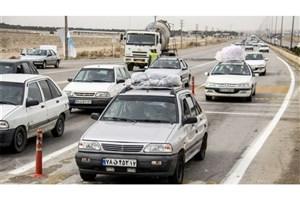 خروج ۹۷۰هزار خودرو با ۳ میلیون سرنشین نفر از 13 استان برای سفرهای نوروزی!