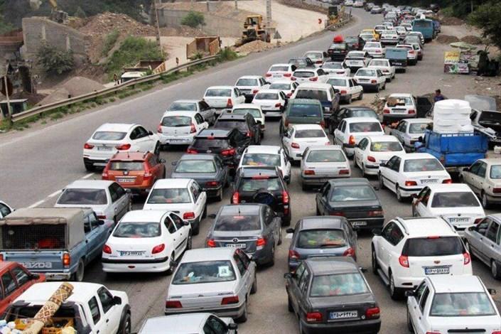 ترافیک سنگین در 5 محور خروجی تهران