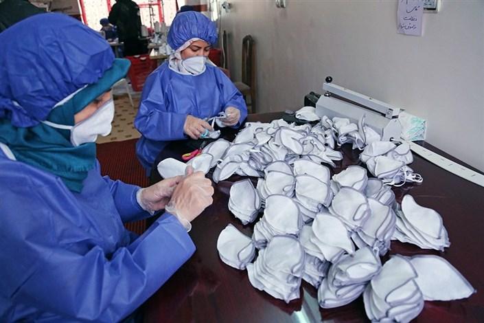 توزیع بیش از ۱۴ میلیون ماسک