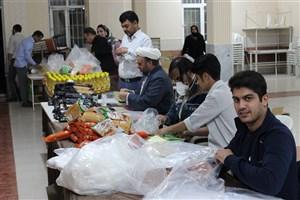 کمکرسانی واحد رفسنجان به سیلزدگان جازموریان و زهکلوت