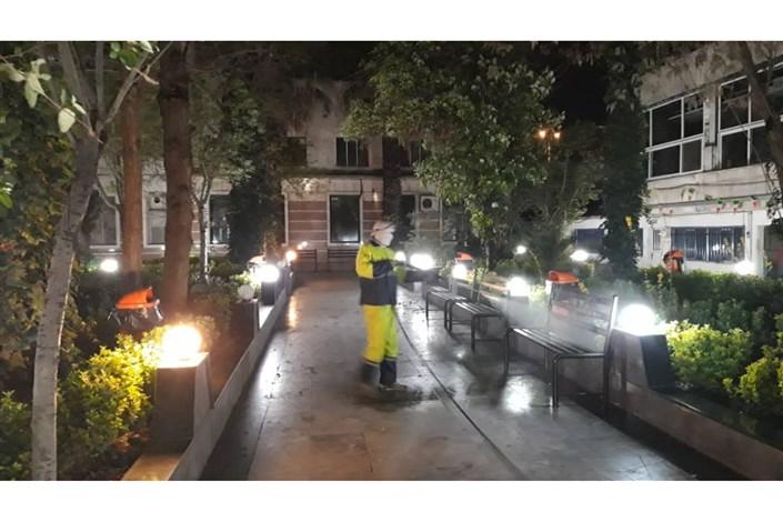 اقدامات ضد کرونایی محلات مرکزی تهران