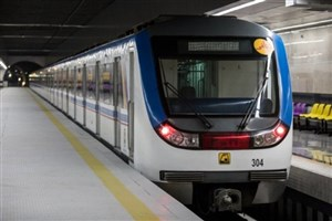 مترو تعطیل شدنی نیست/تهیه پروتکل برای استفاده اجباری از ماسک در مترو