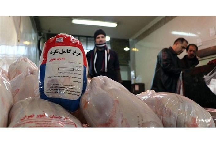 کاهش قیمت مرغ در میادین میوه و تره بار