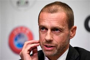 رئیس یوفا: در صورت عدم آغاز لیگها تا اوایل تیر، نتایج باطل میشوند