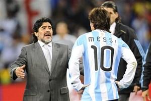 مهاجم سابق تیم ملی ایتالیا: مارادونا ۵ سال خوب بود مسی ۱۵ سال