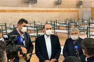بهره برداری نقاهتگاه دویست تخت خوابی جنوب استان تهران در دانشگاه آزاد ورامین-پیشوا