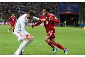 امیری: نگاه رونالدو به بازیکنان ایران در جام جهانی تحقیرآمیز بود