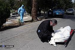 دیروز 70 قربانی کرونا در بهشتزهرا دفن شدند
