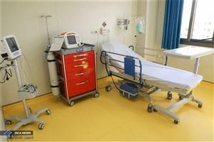 اختصاص ۵۷ تخت به بیماران کرونایی در بیمارستان فرهیختگان