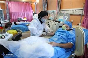 تخت خالی برای بیماران کرونایی در بیمارستان دانشوری موجود نیست