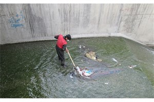 لایروبی و پاکسازی بیش از 19 هزار متر از مسیل ها و کانال های منطقه 13