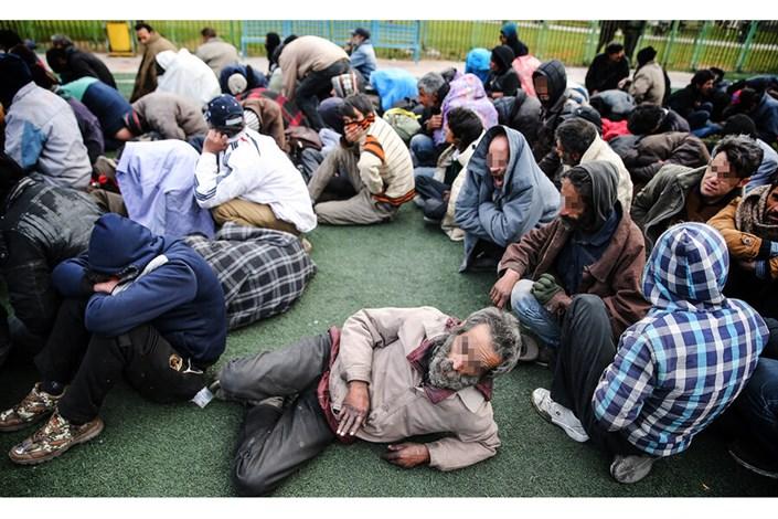 جمع آوری معتادان متجاهر