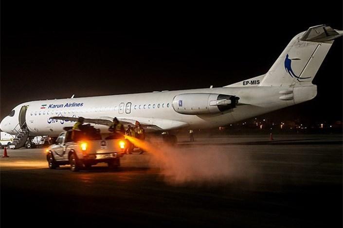 توقف 75 تا 100 درصدی پروازهای برخی فرودگاههای کشور