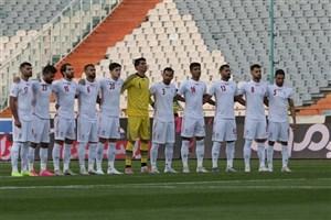 تیم ملی فوتبال ایران در جایگاه سیوسوم ردهبندی فیفا باقی ماند