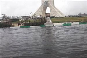 تهرانی ها نگران بارش باران و آب گرفتگی  نباشند