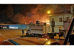 شورش و حریق در  زندانِ سیبری