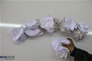 توزیع بستههای بهداشتی توسط بسیج دانشجویی واحد زاهدان