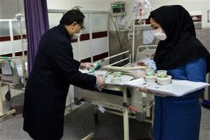 توزیع غذای حضرتی آستان حضرت عبدالعظیم(ع) میان بیماران مبتلا به  کرونا