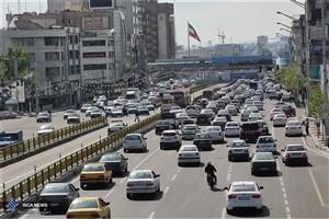 افزایش  35 درصدی تردد در معابرتهران/ترافیک سنگین دربزرگراه ها