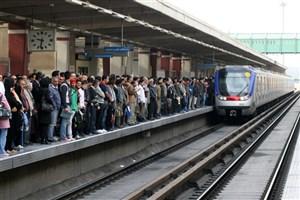 تردد بیش از ۵ میلیون مسافر با مترو تهران در روزهای کرونایی