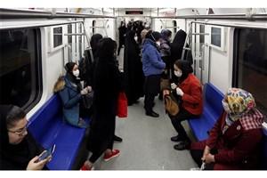 نگرانی از ازدحام مسافران در مترو/ مردم از ماسک استفاده کنند