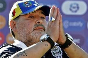 مارادونا: ورزشکاران از تمرین و دعا دست برندارند