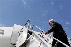 ظریف دمشق را به مقصد تهران ترک کرد