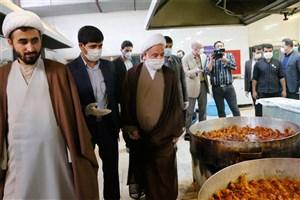 آغاز به کار نخستین مرکز اطعام مهدوی استان خراسان شمالی در دانشگاه آزاد بجنورد
